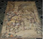 Antique Tapestry - La Bonne Chanson - Made in France