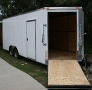 8.5XX24 CarHauler with front ramp