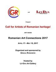 Call for Artists of Romanian heritage!
